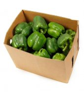 Green Bell Pepper Box